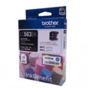 Brother LC-563BK Black Genuine Original Printer Ink Cartridge
